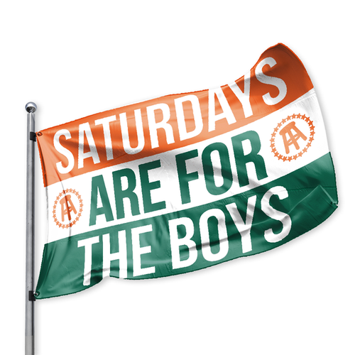 SAFTB Flag - Orange White Green