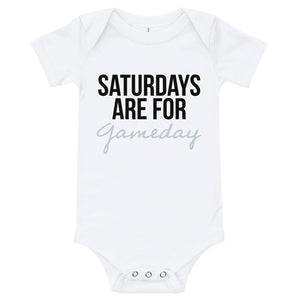 Saturdays Are For GAMEDAY Onesie