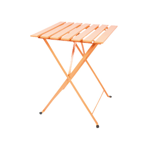 Bistro Table Orange