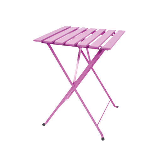 Bistro Table Pink