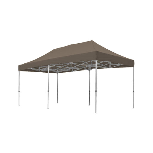 Easy-up tent Taupe 3m x 6m