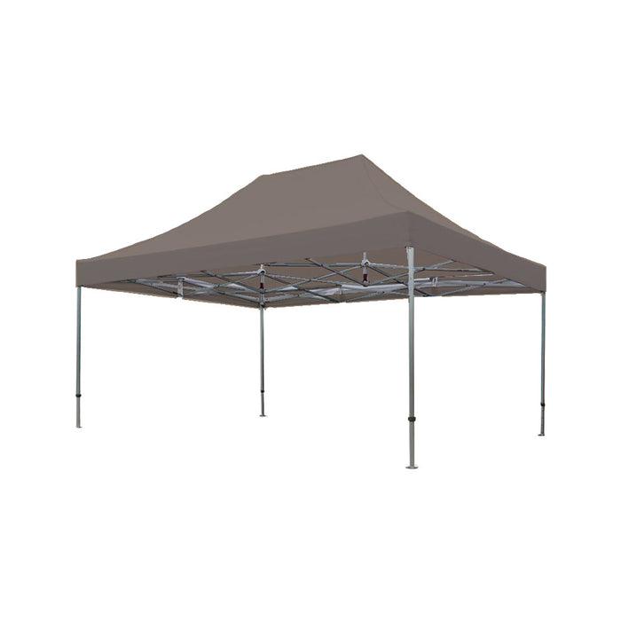 Easy-up tent Taupe 4m x 6m