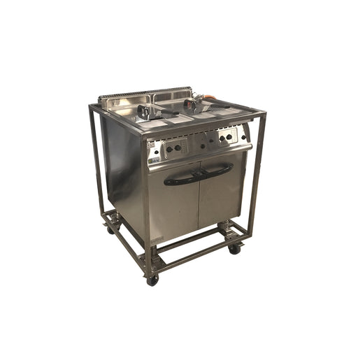 Friteuse Gas - 2 x 20 L