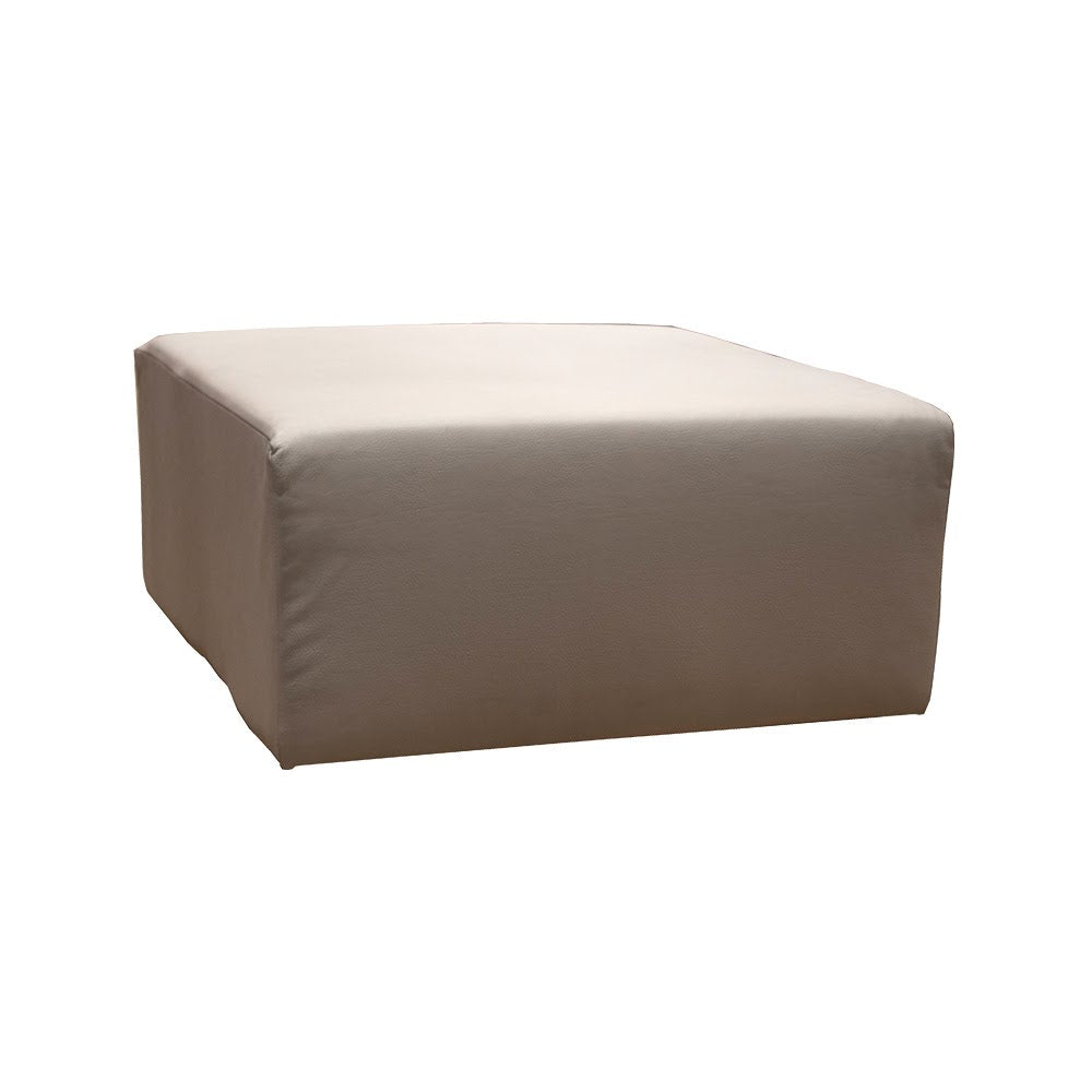 Marie Lou Taupe Pouf