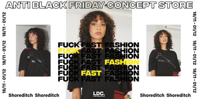 Why We're Boycotting Black Friday and Popping Up with Lone Design Club
