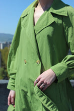 Load image into Gallery viewer, Sustainable & ethically made trench coat