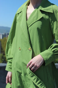 Sustainable & ethically made trench coat