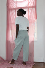 Load image into Gallery viewer, Sustainable & ethically made high waist cotton trousers