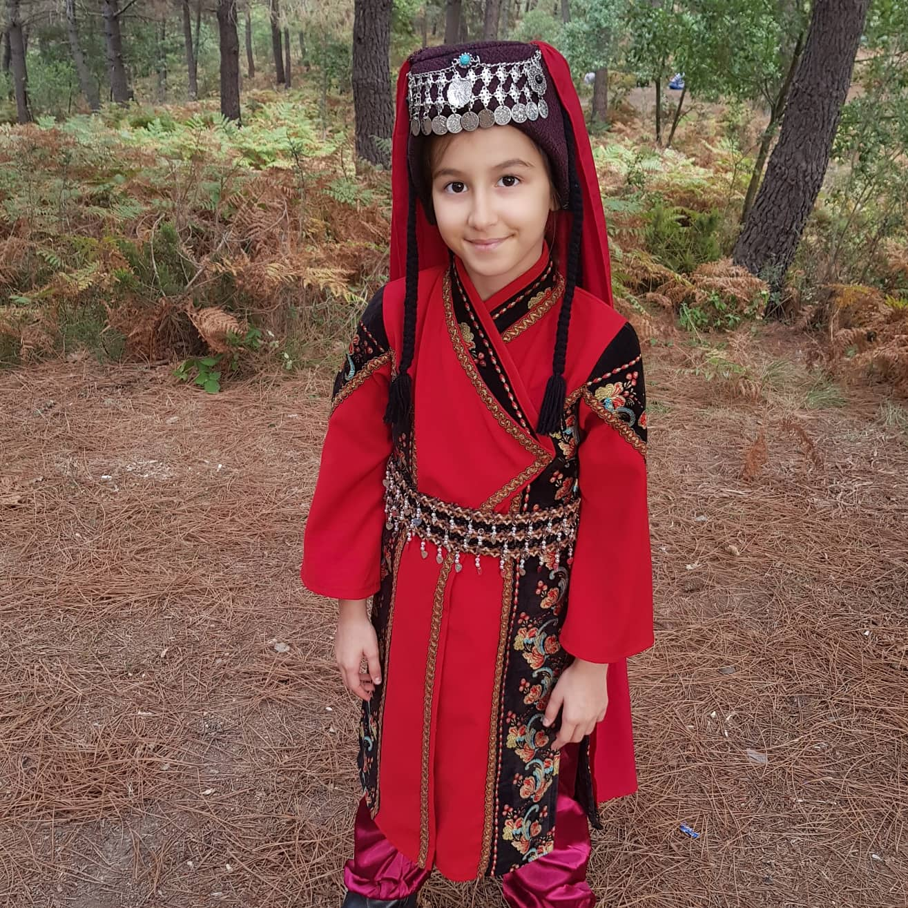 Kayi Children's Girls Dress Halime Sultan Outfit