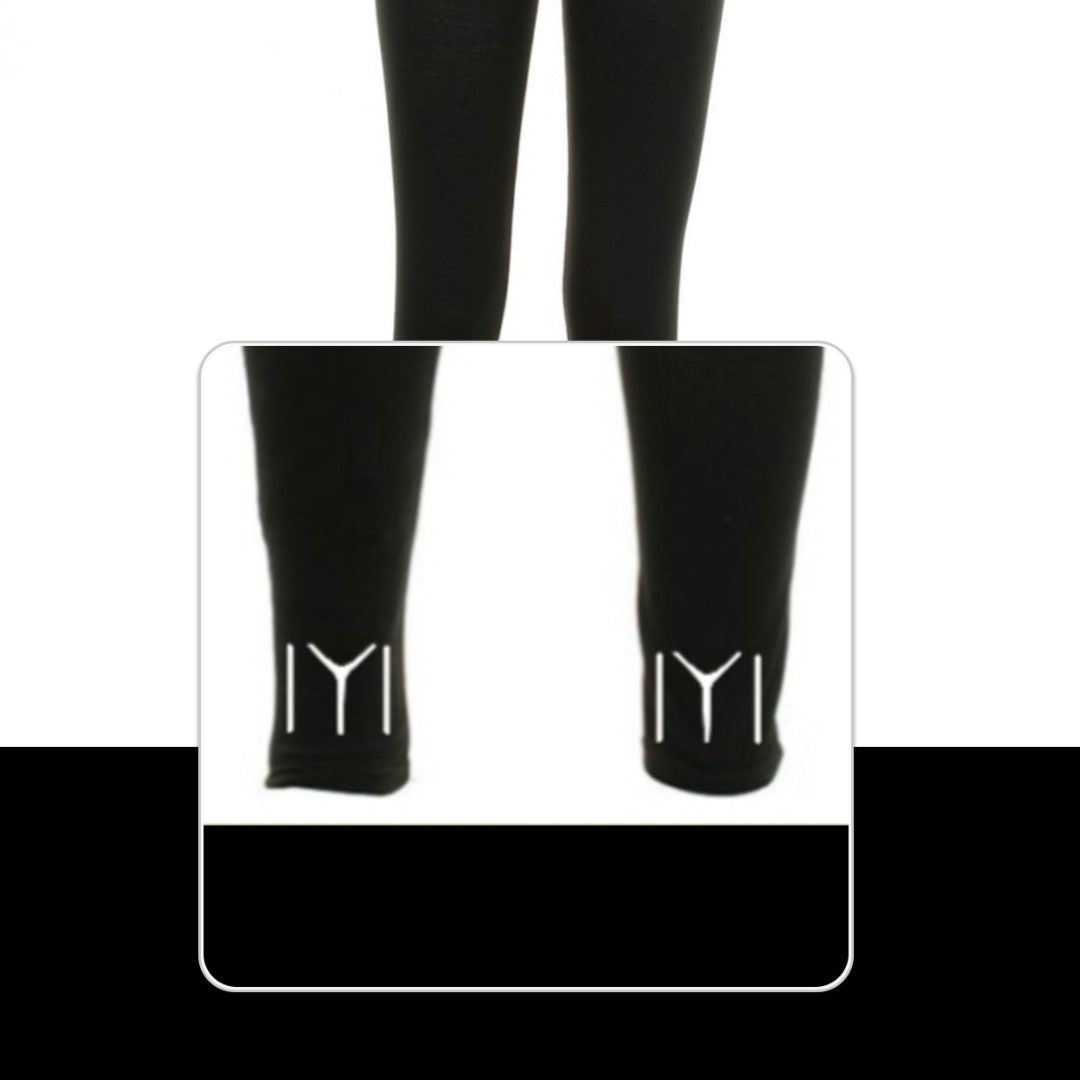 Kayi Women's Leggings IYI Logo Back