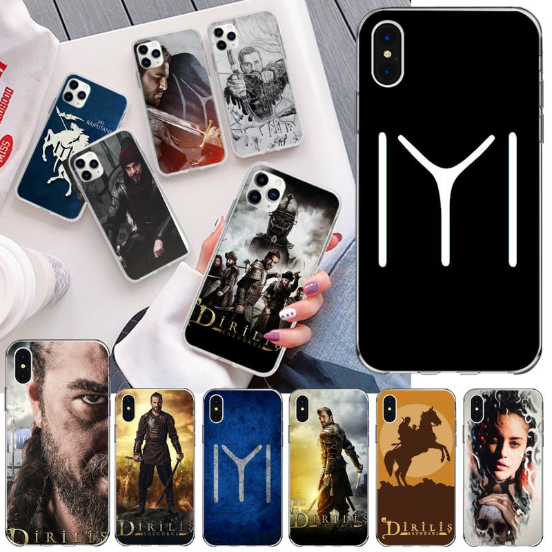 Dirilis Ertugrul Cover Soft Shell Phone Case for iPhone 11 pro XS MAX 8 7 6 6S Plus X 5S SE 2020 XR