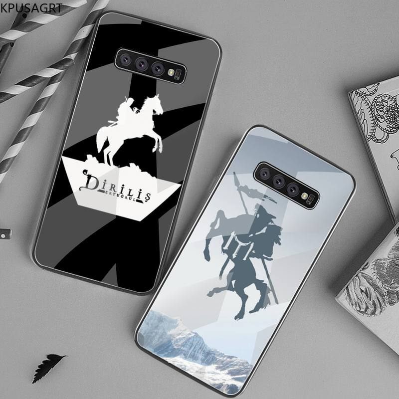 Dirilis Ertugrul Phone Case Tempered Glass For Samsung S20 Plus S7 S8 S9 S10 Plus Note 8 9 10 Plus