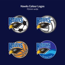 Load image into Gallery viewer, Hawks Full Zip Hoody