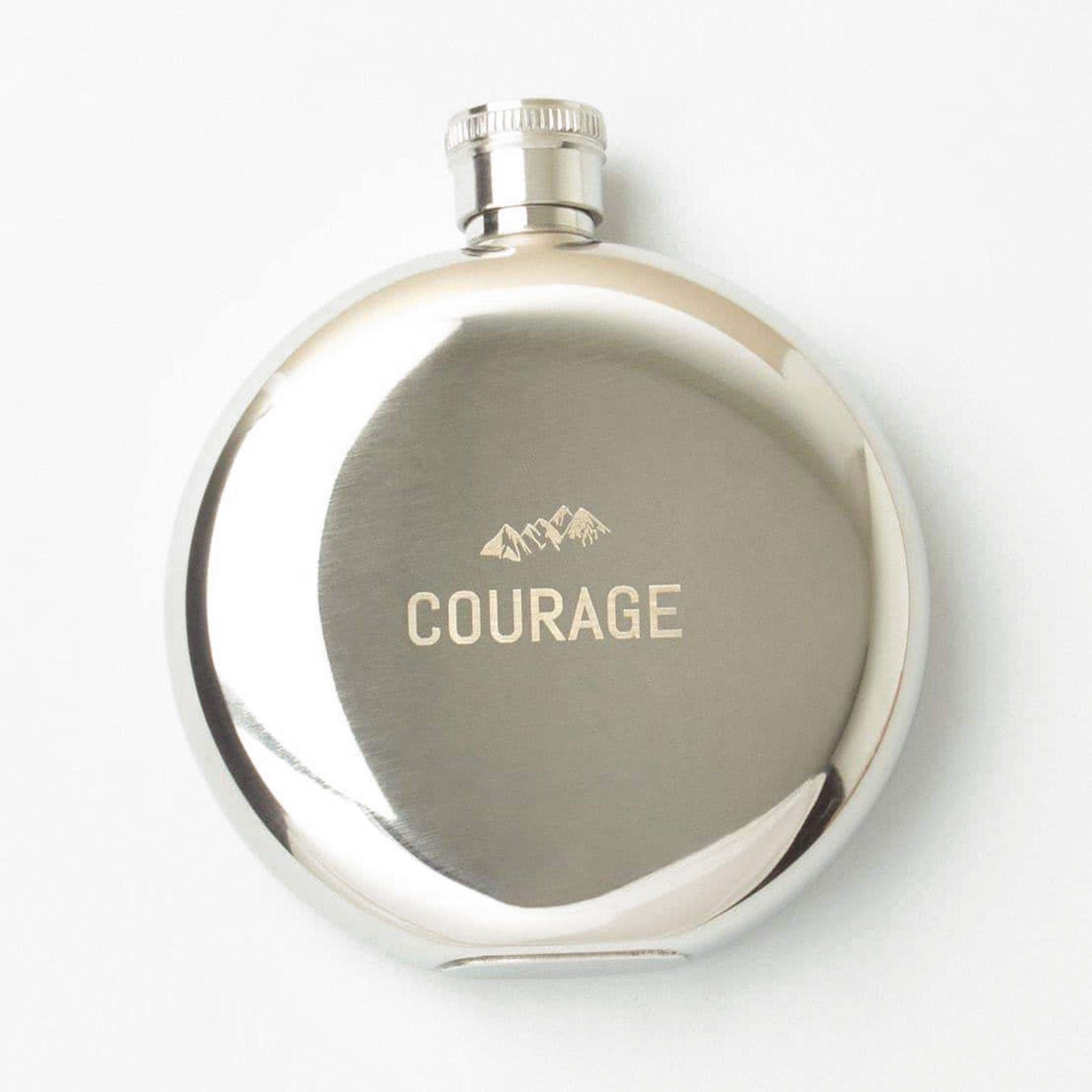 Atlantic Folk 'Courage' Hip Flask