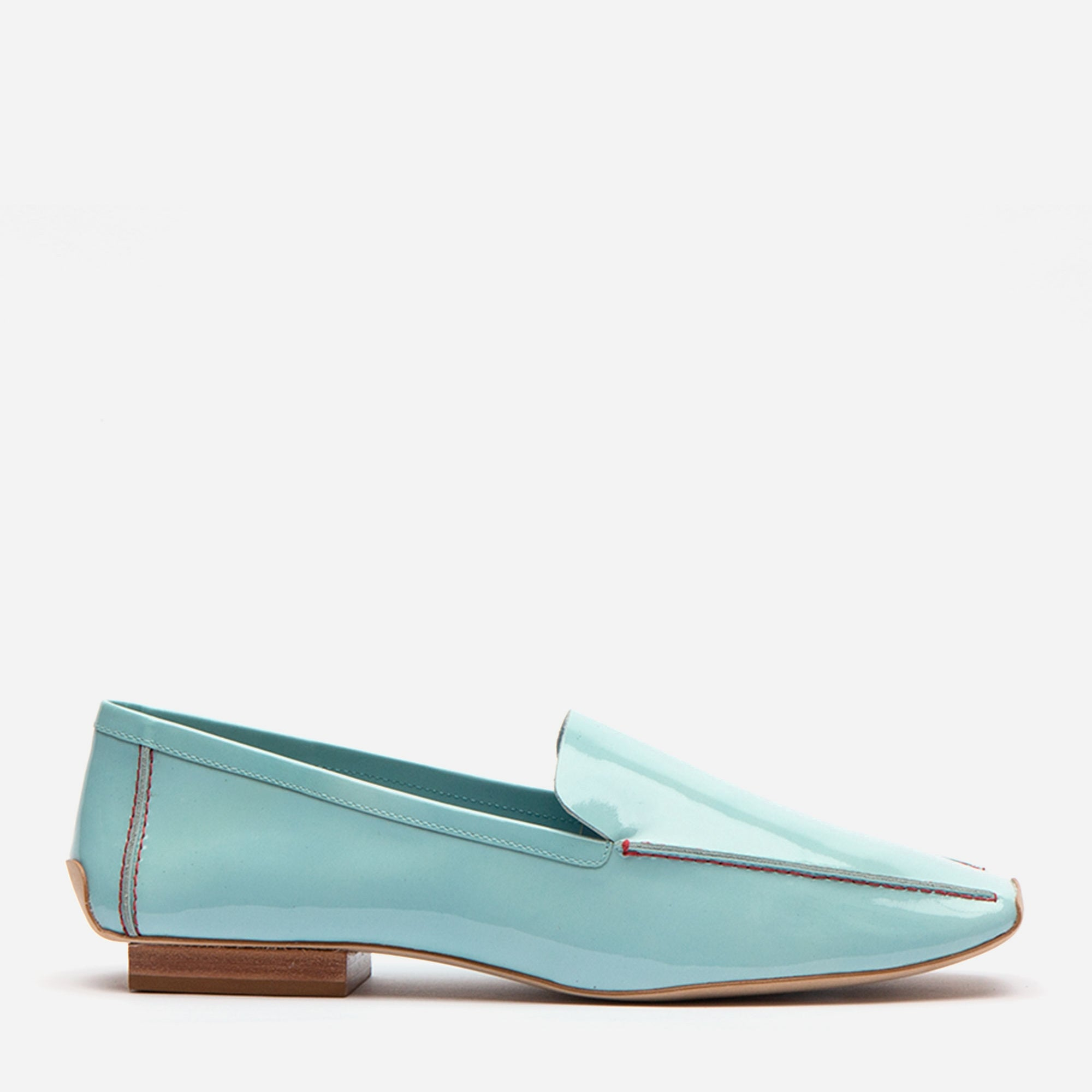 Elyce Loafers Soft Patent Light Blue