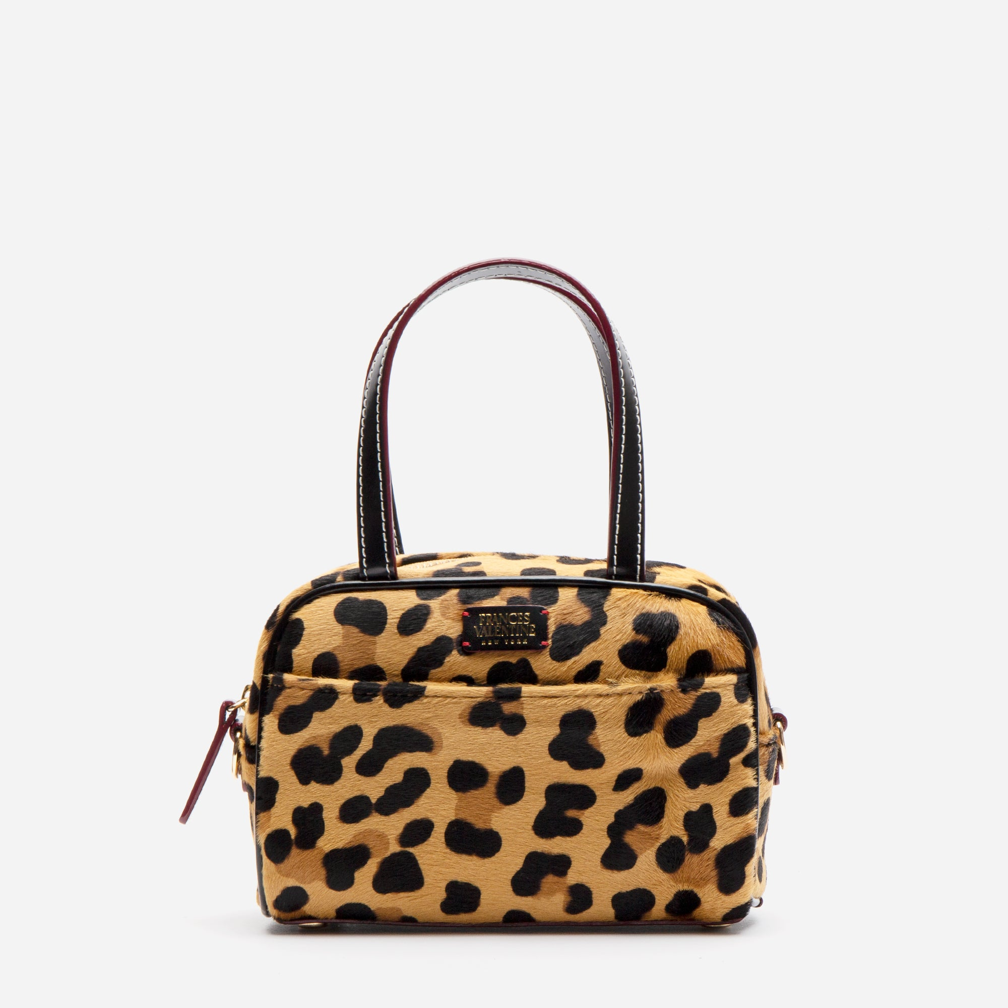Baby Tote Leopard Printed Haircalf - Frances Valentine