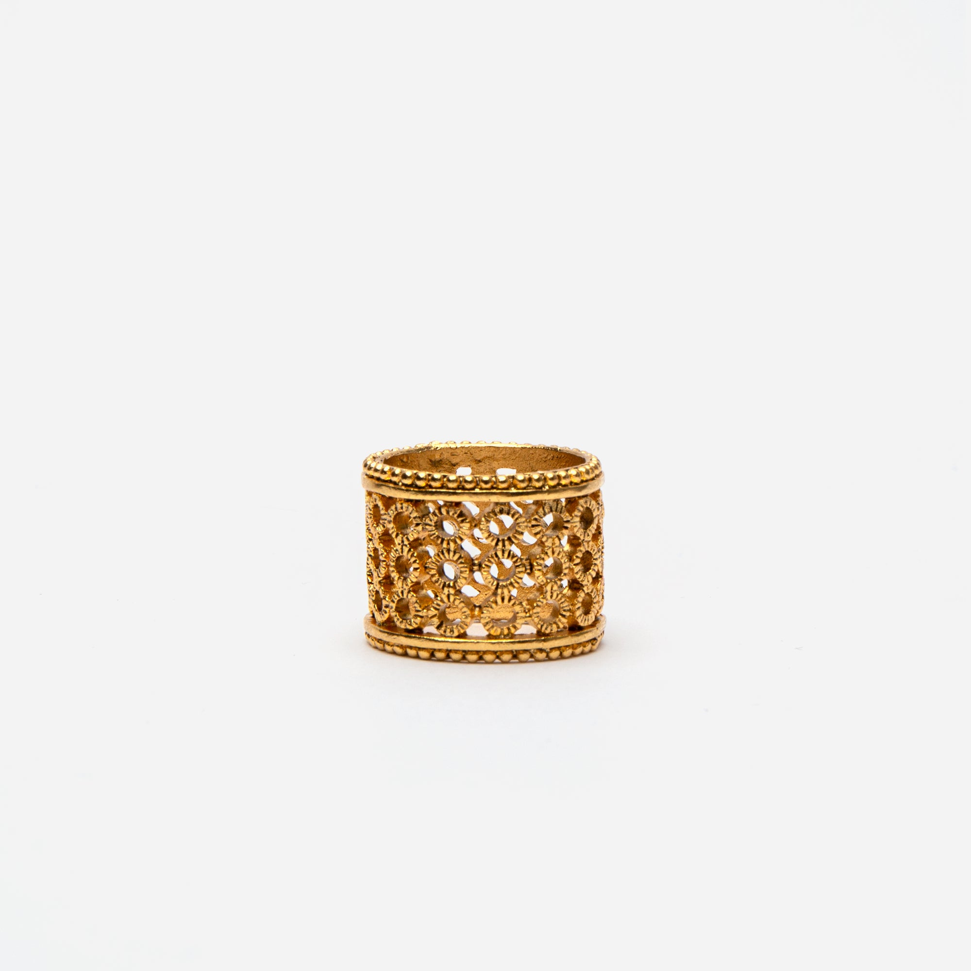 Basketweave Ring - Frances Valentine