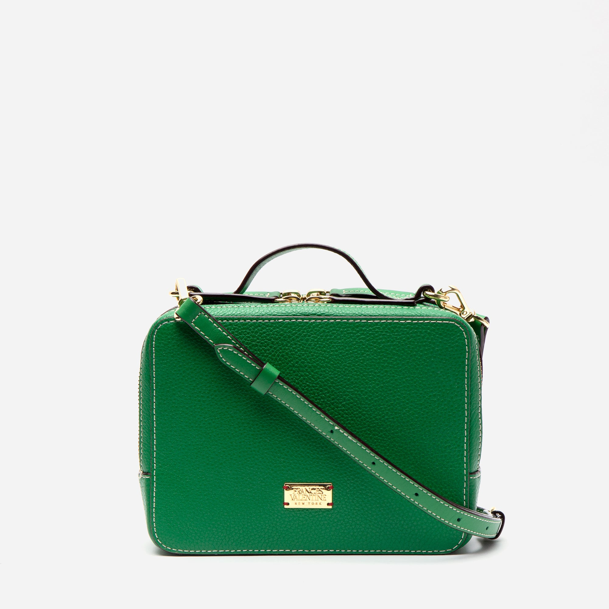 Birdie Tumbled Leather Green