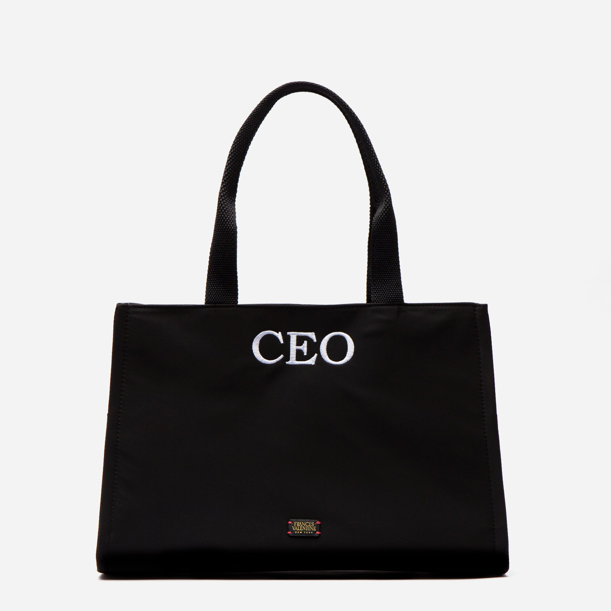 Limited Edition Embroidered Kate Shoulder Tote CEO