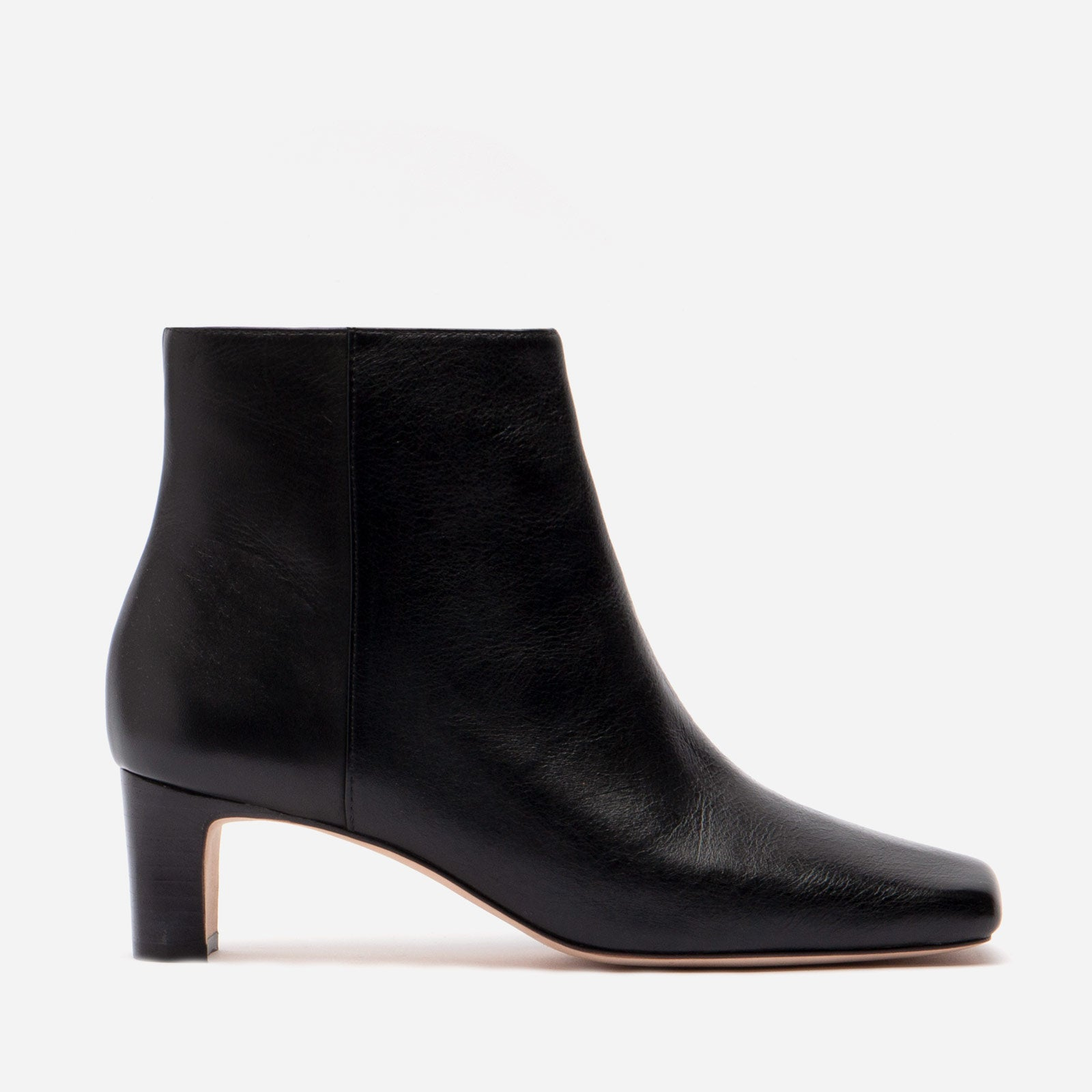 Eleanor Boot Naplak Black - Frances Valentine