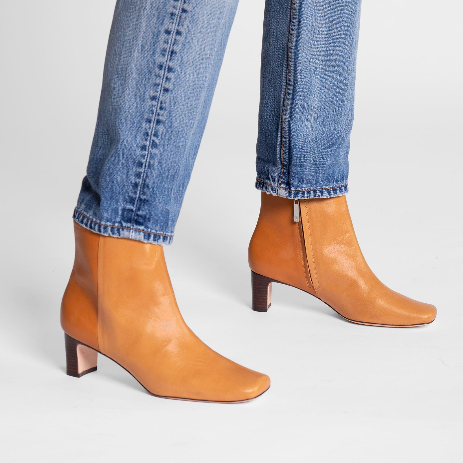 Eleanor Boot Naplak Caramel