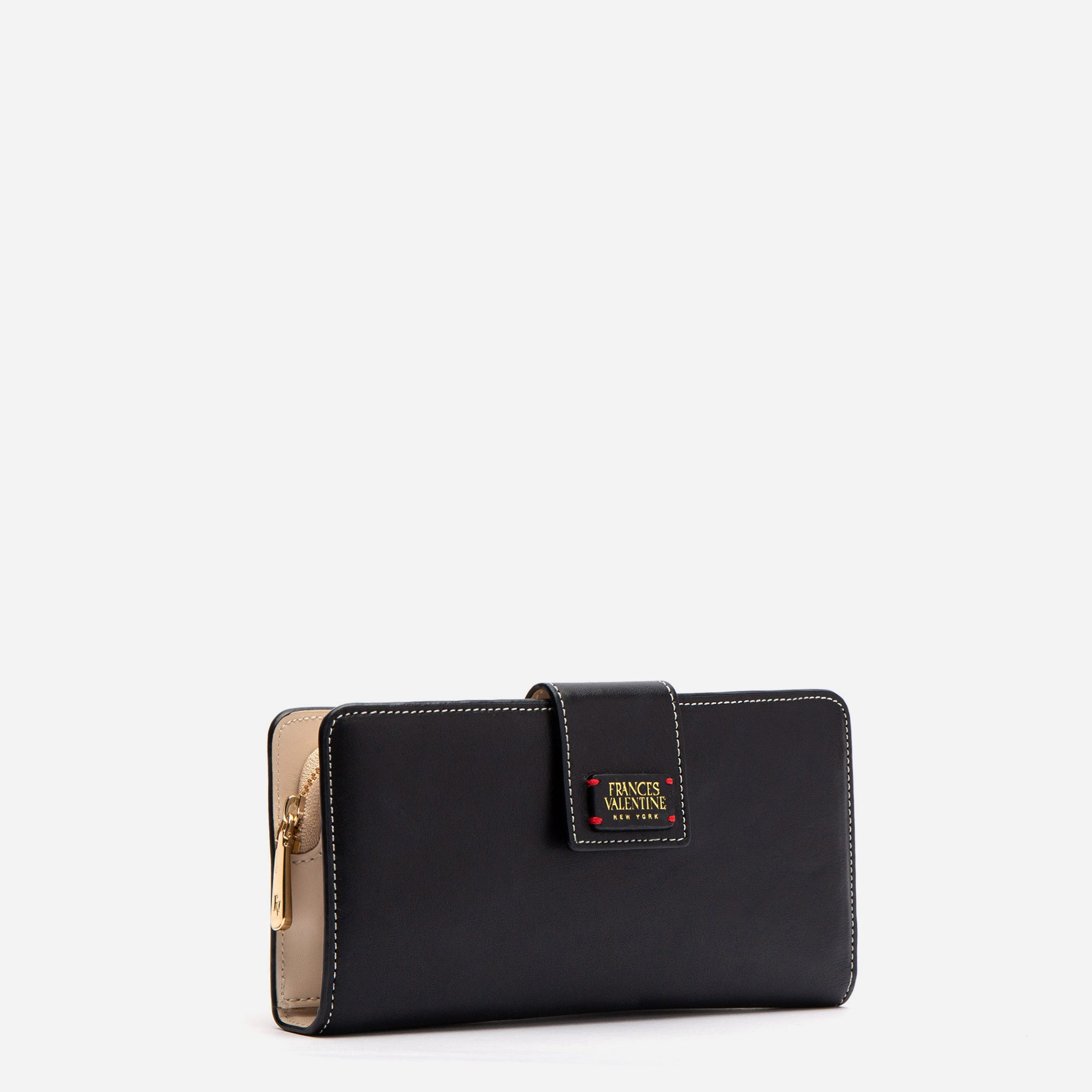 Jefferson Slim Wallet Black Oyster