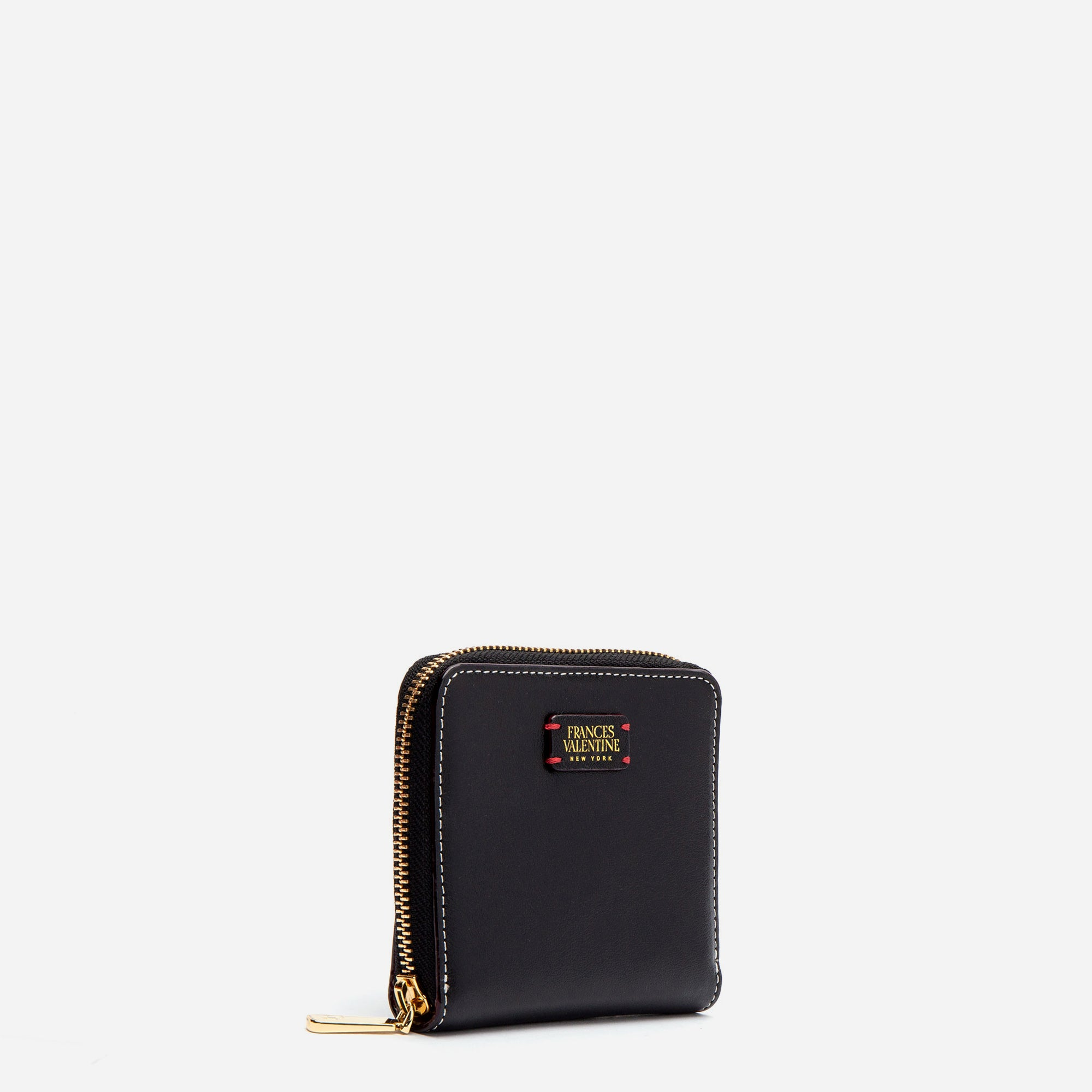 Roosevelt Small Zip Wallet Black Oyster
