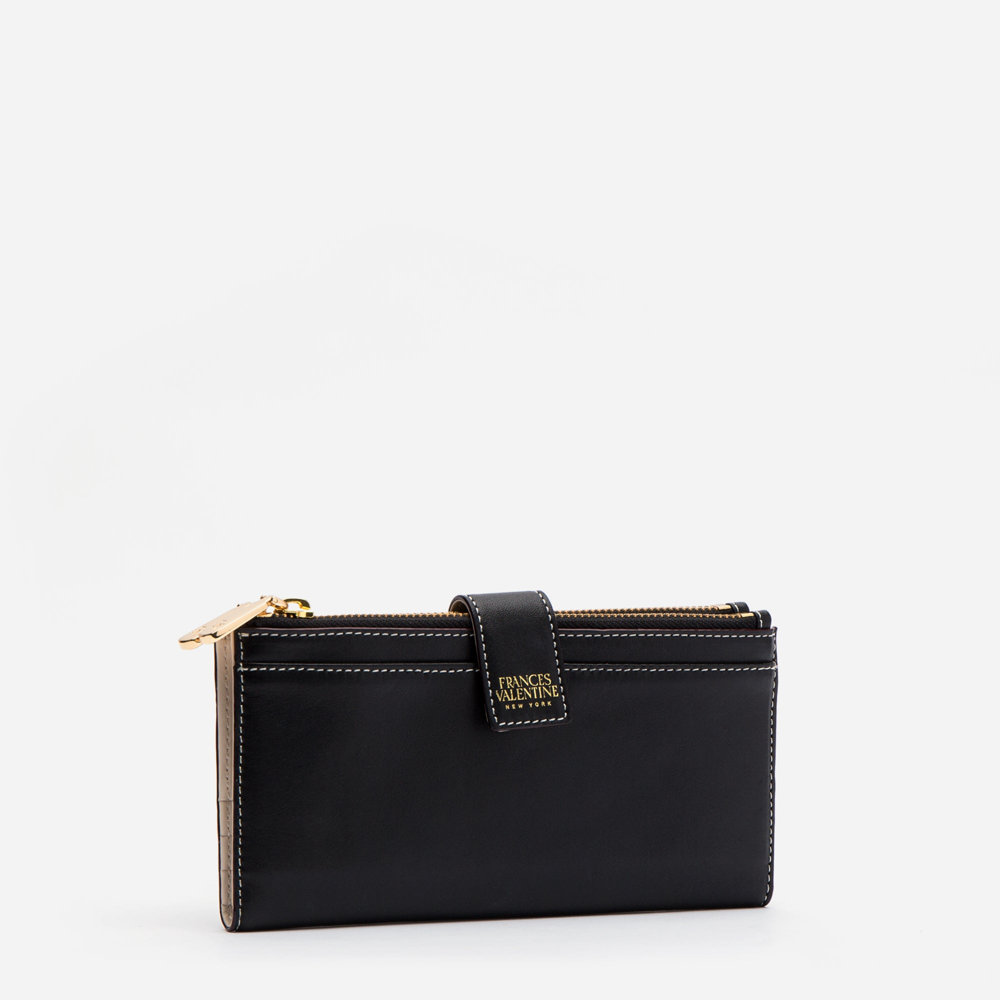 Sacagawea Snap Wallet Black Oyster