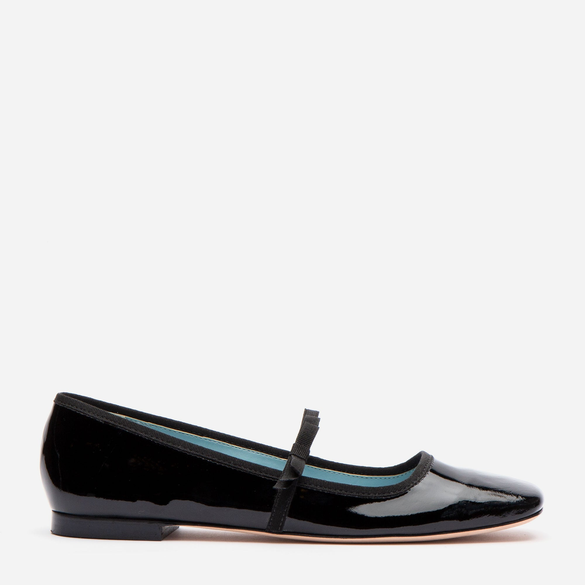 Jude Mary Jane Flats Black Patent