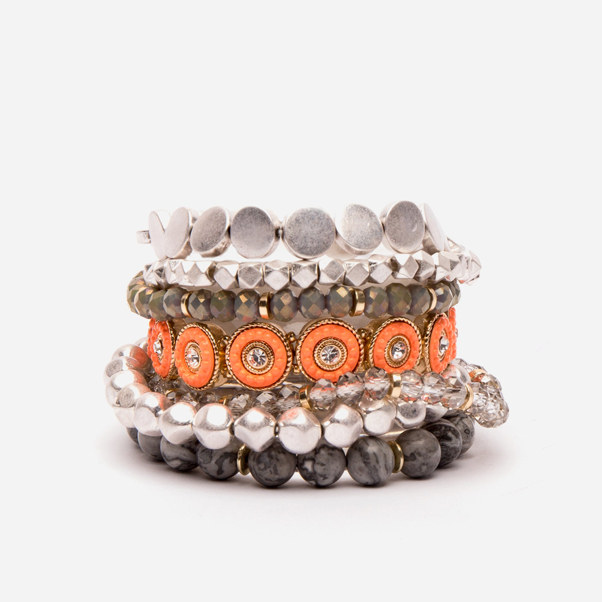 Hilo Stacked Bracelets