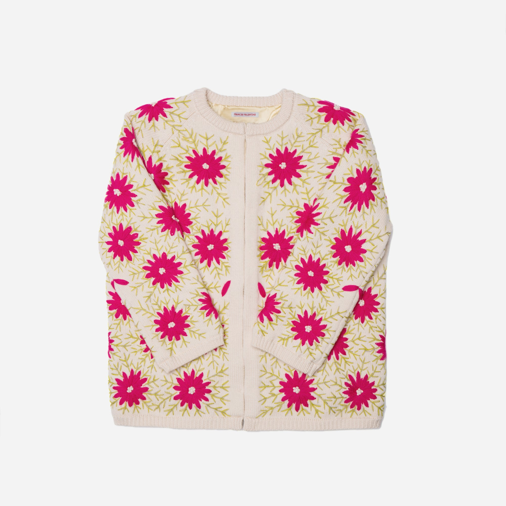 Katy's Flower Cardi Coat Pink