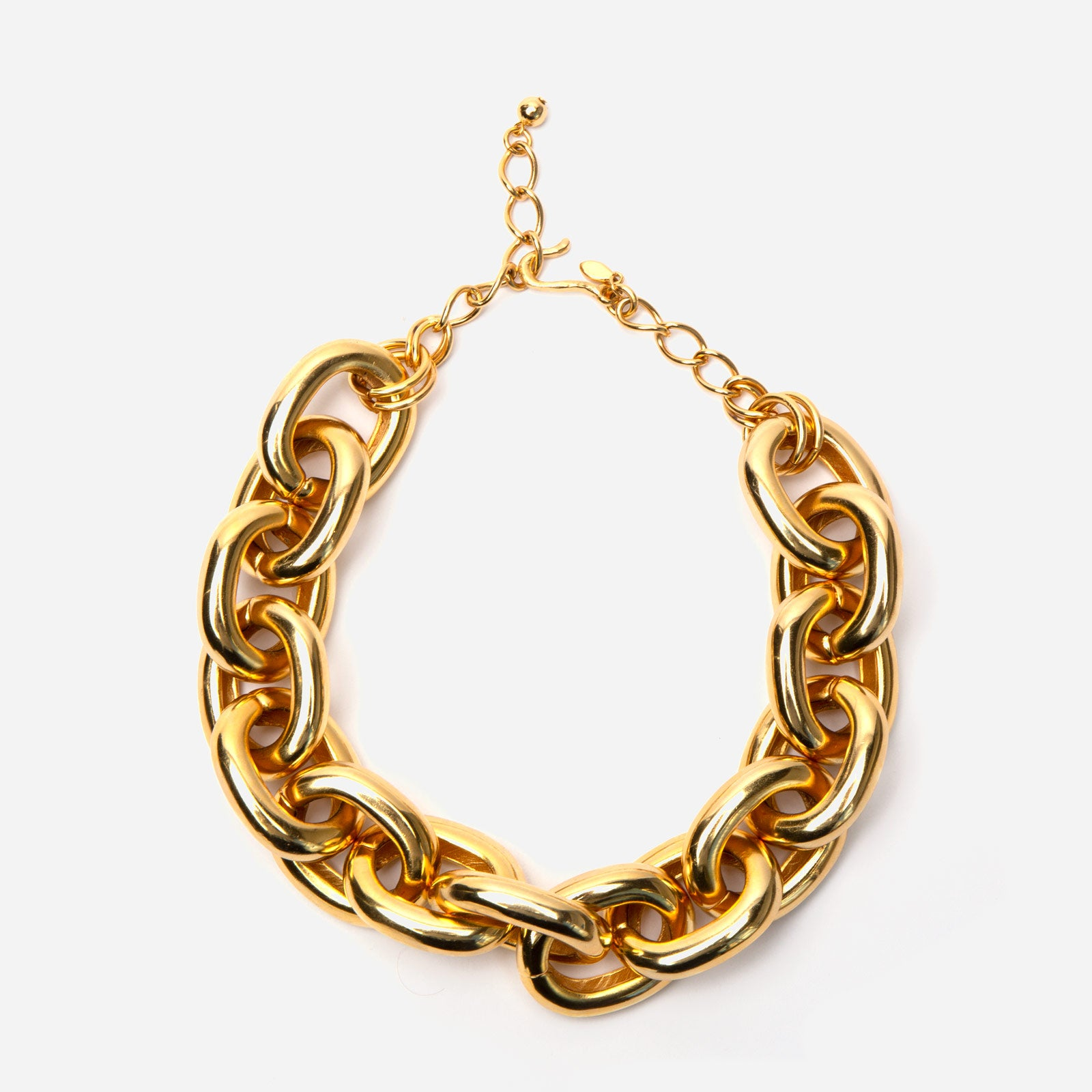 Grand Chain Link Necklace - Frances Valentine