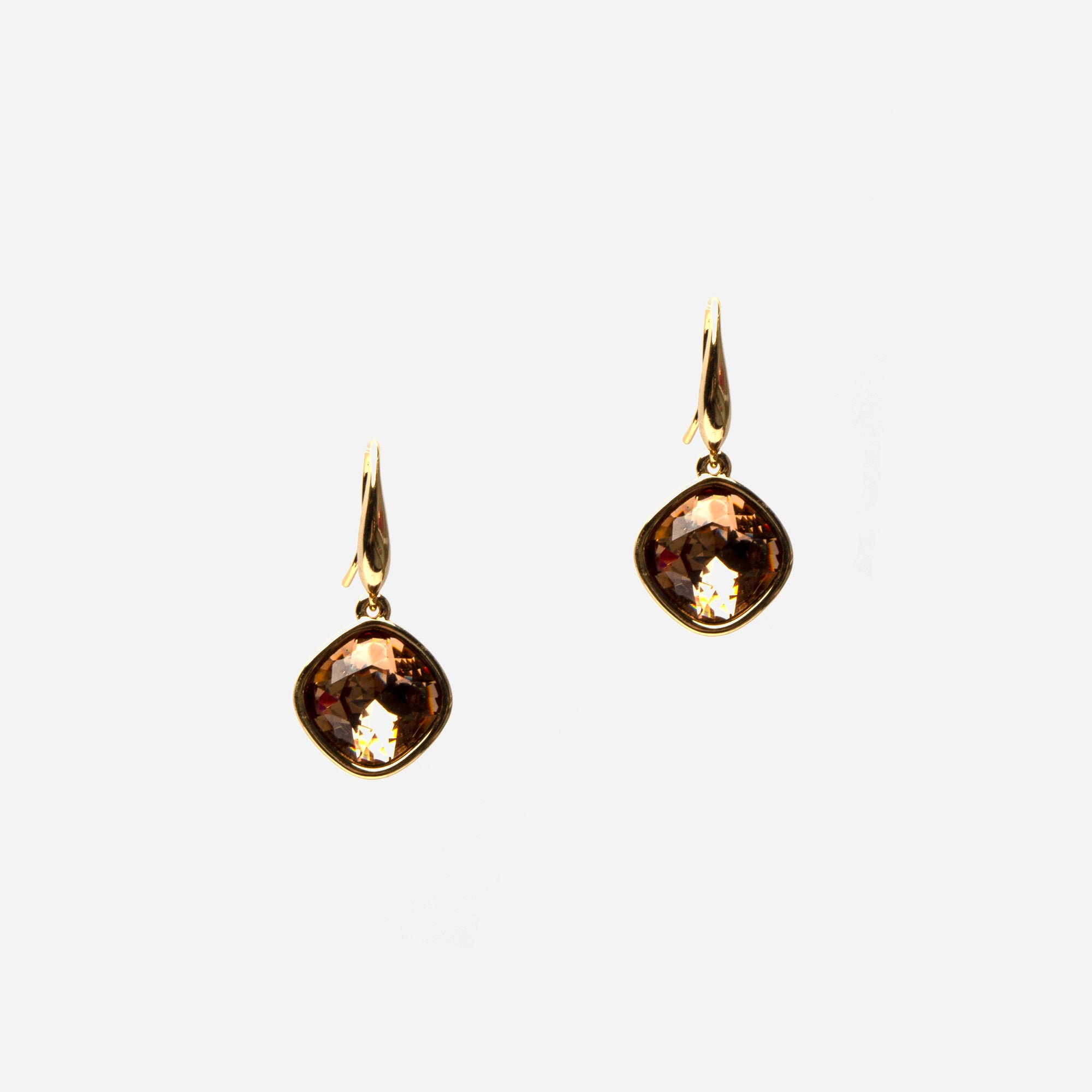 Topaz Sparkle Drop Earrings