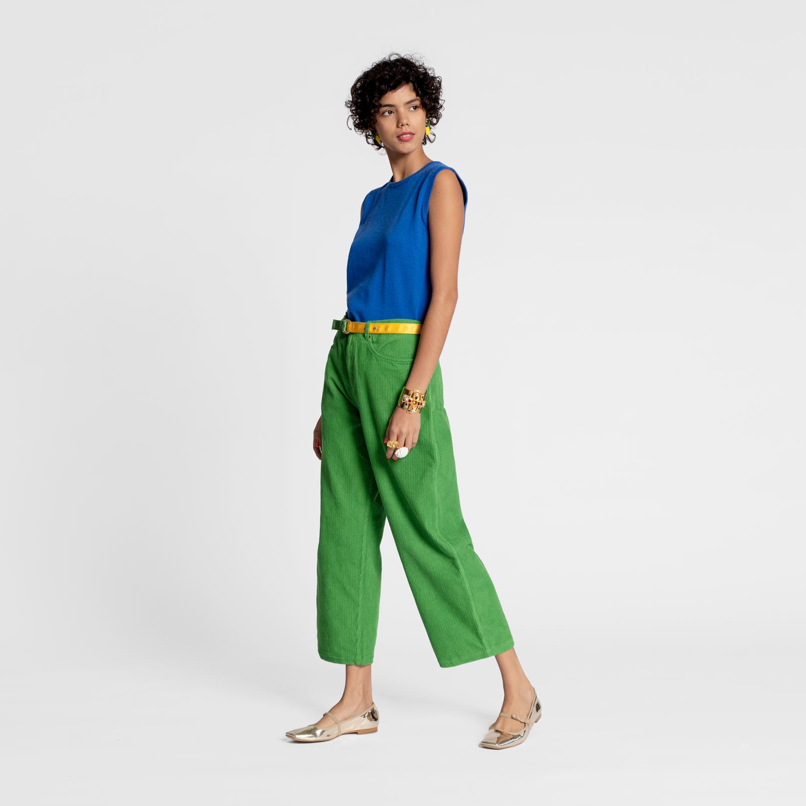 Jane Corduroy Pant Green