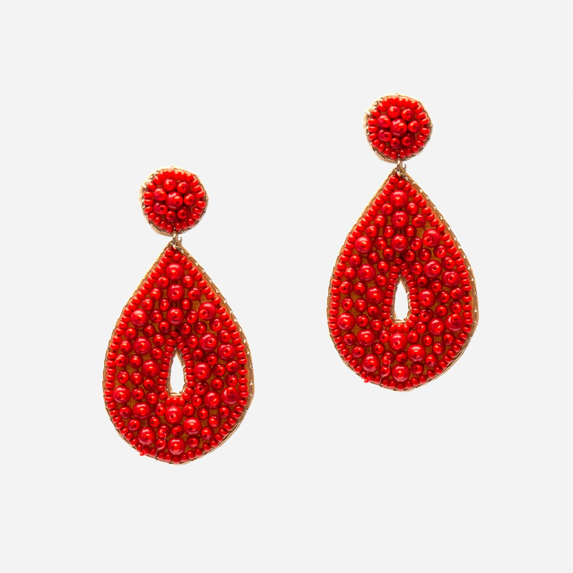 Cozumel Beaded Earrings - Frances Valentine