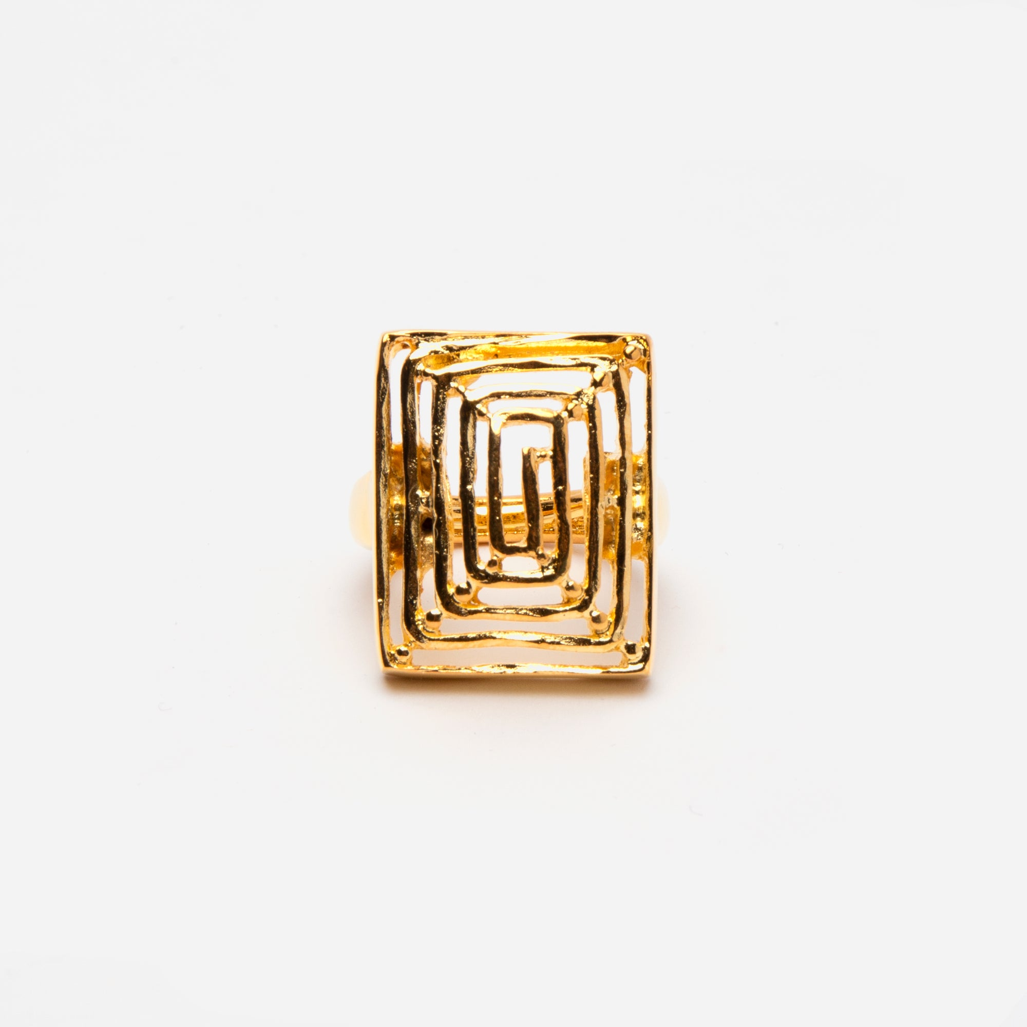 Square Cut Ring