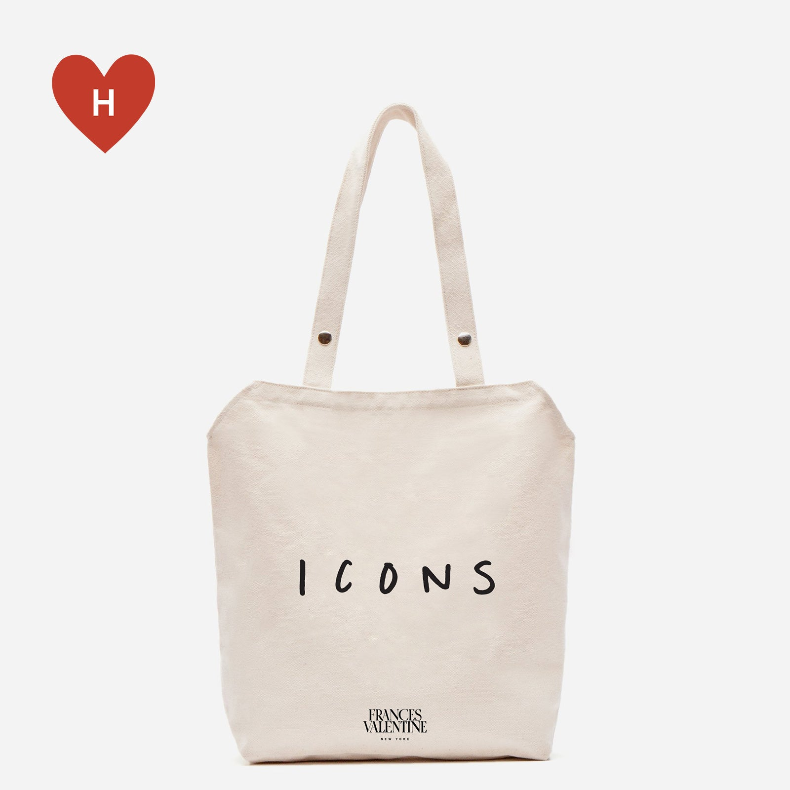 *DONATE TO A HEALTHCARE HERO* Icons Canvas Tote by Donald Robertson