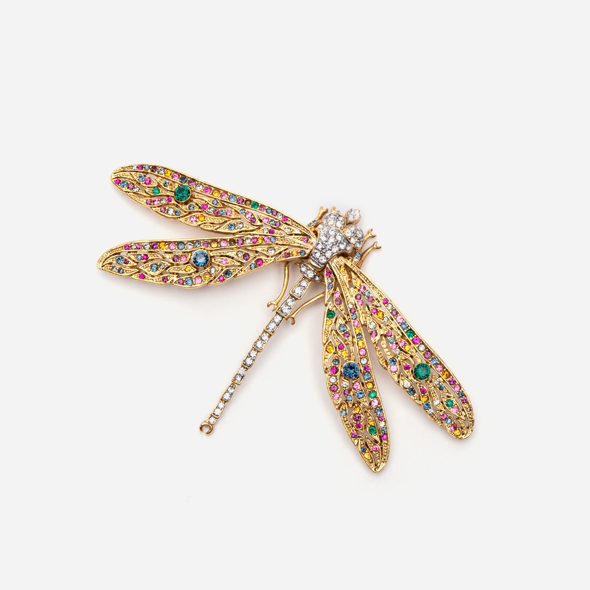 Fiesta Dragonfly Pin - Frances Valentine