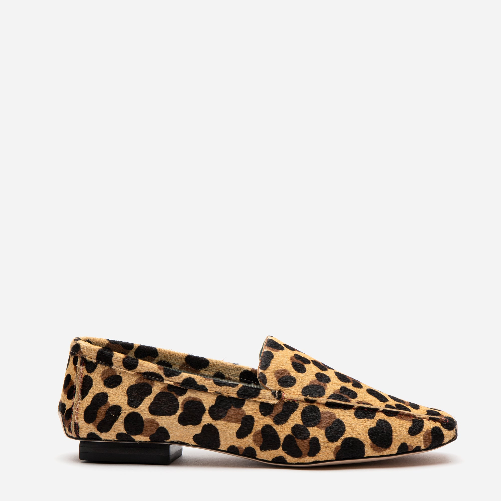 Elyce Loafer Leopard Printed Haircalf - Frances Valentine