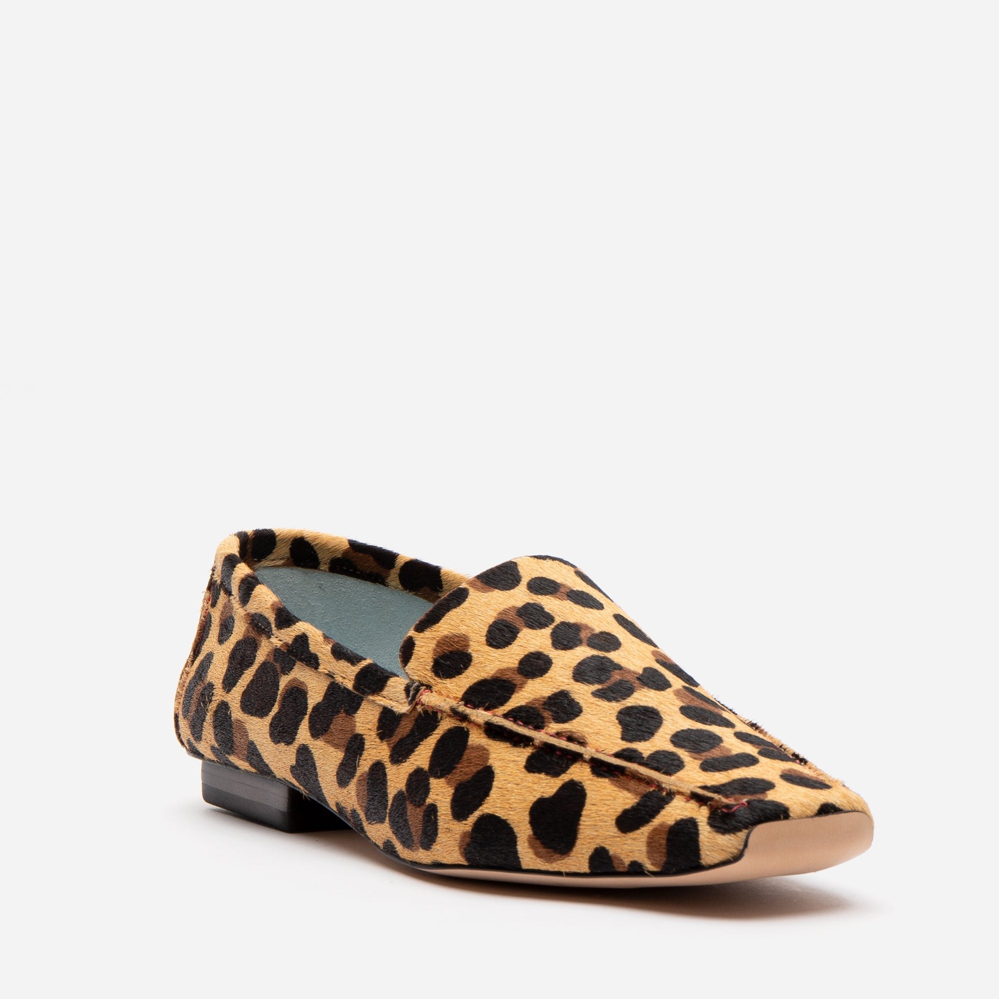 Elyce Loafers Leopard Printed Haircalf
