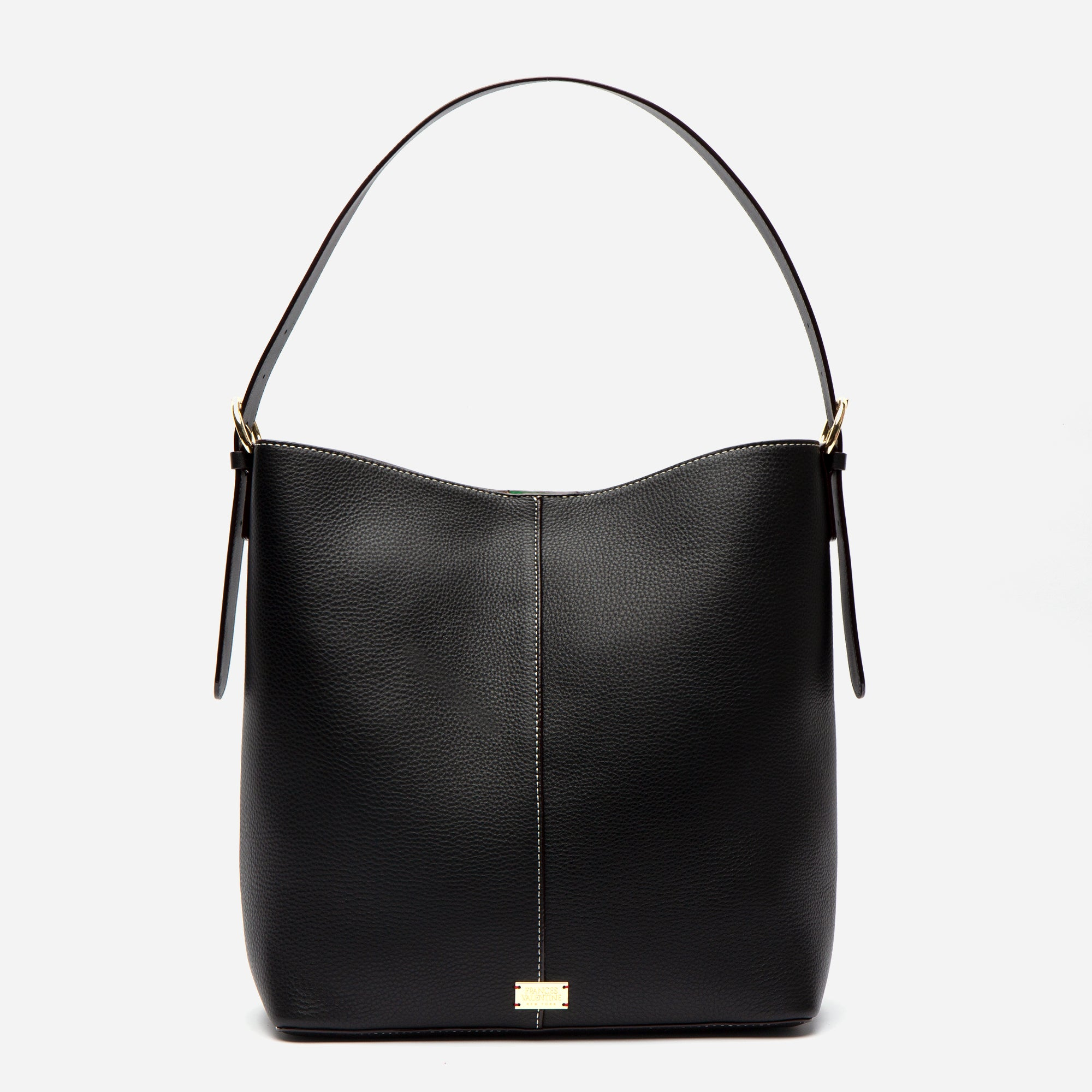 Finn Tumbled Leather Black