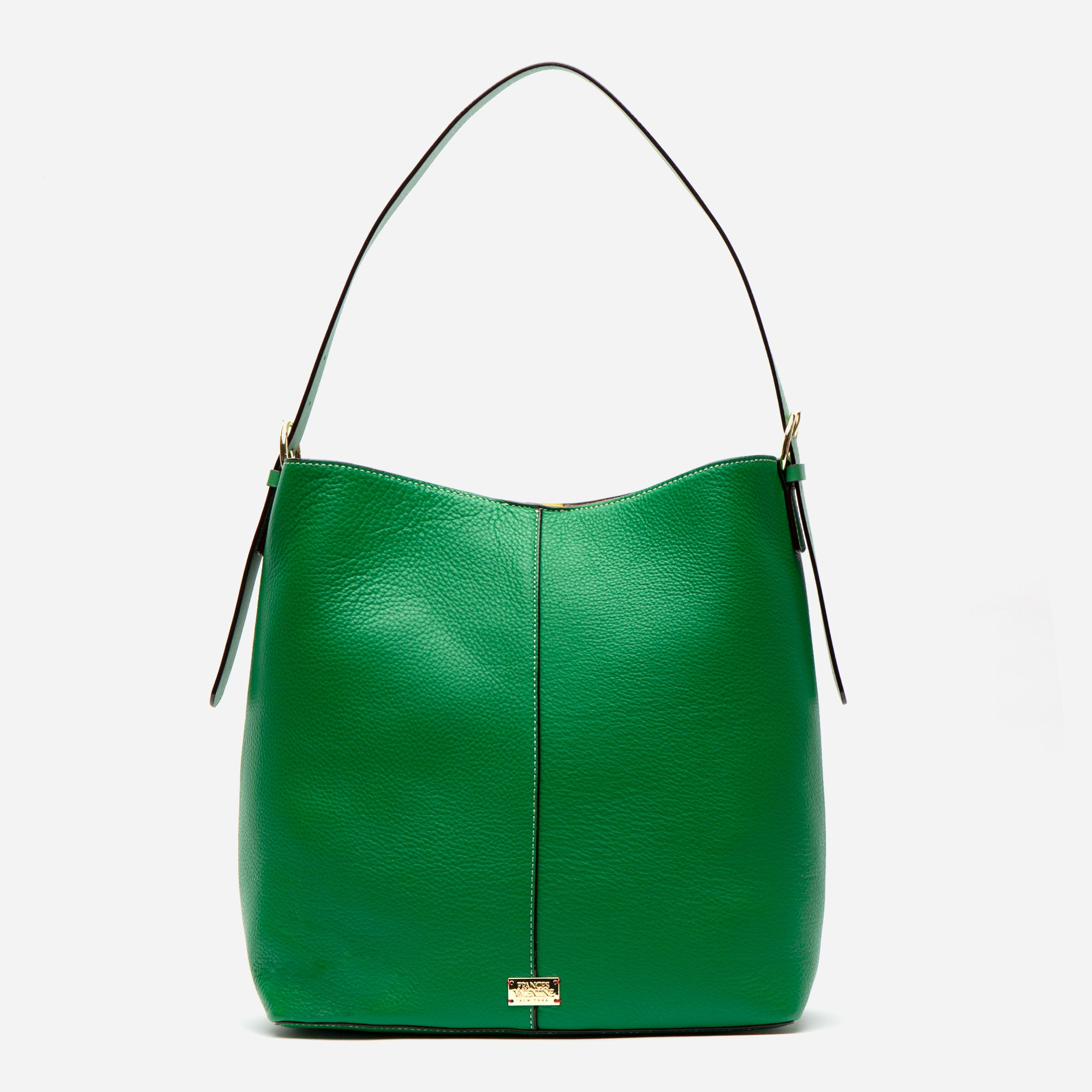 Finn Tumbled Leather Green