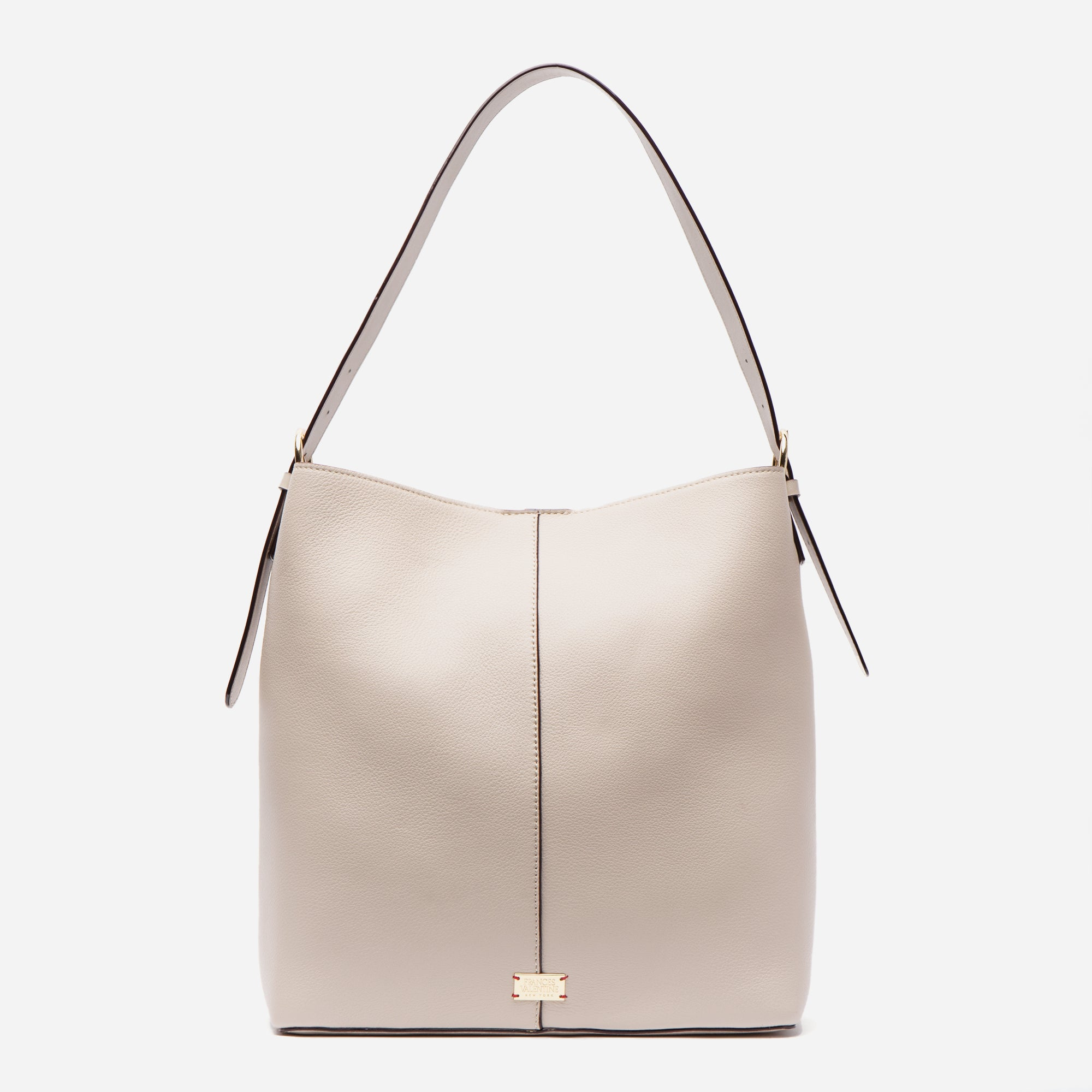 Finn Tumbled Leather Oyster - Frances Valentine