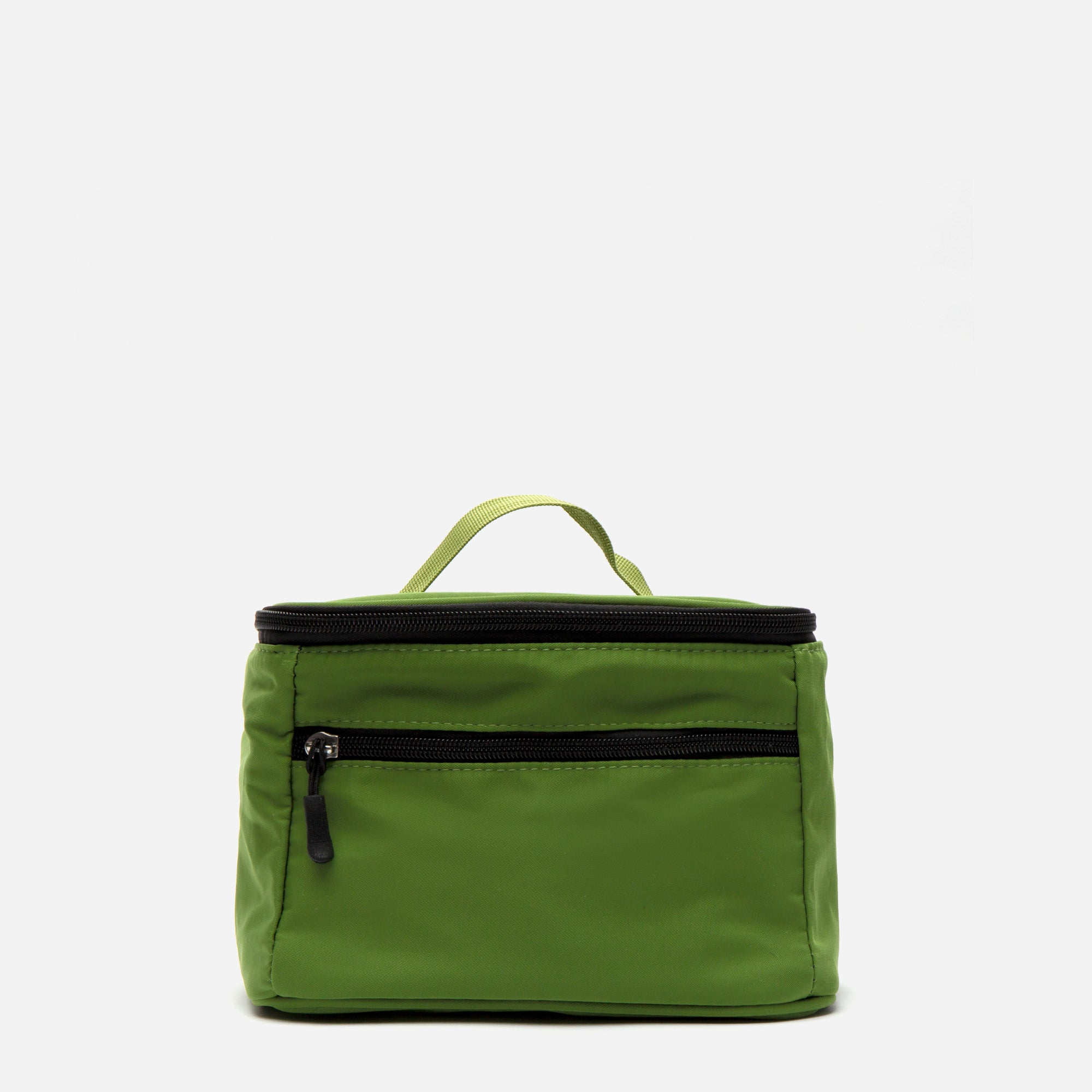 Foldaway Nylon Travel Cosmetic Green - Frances Valentine