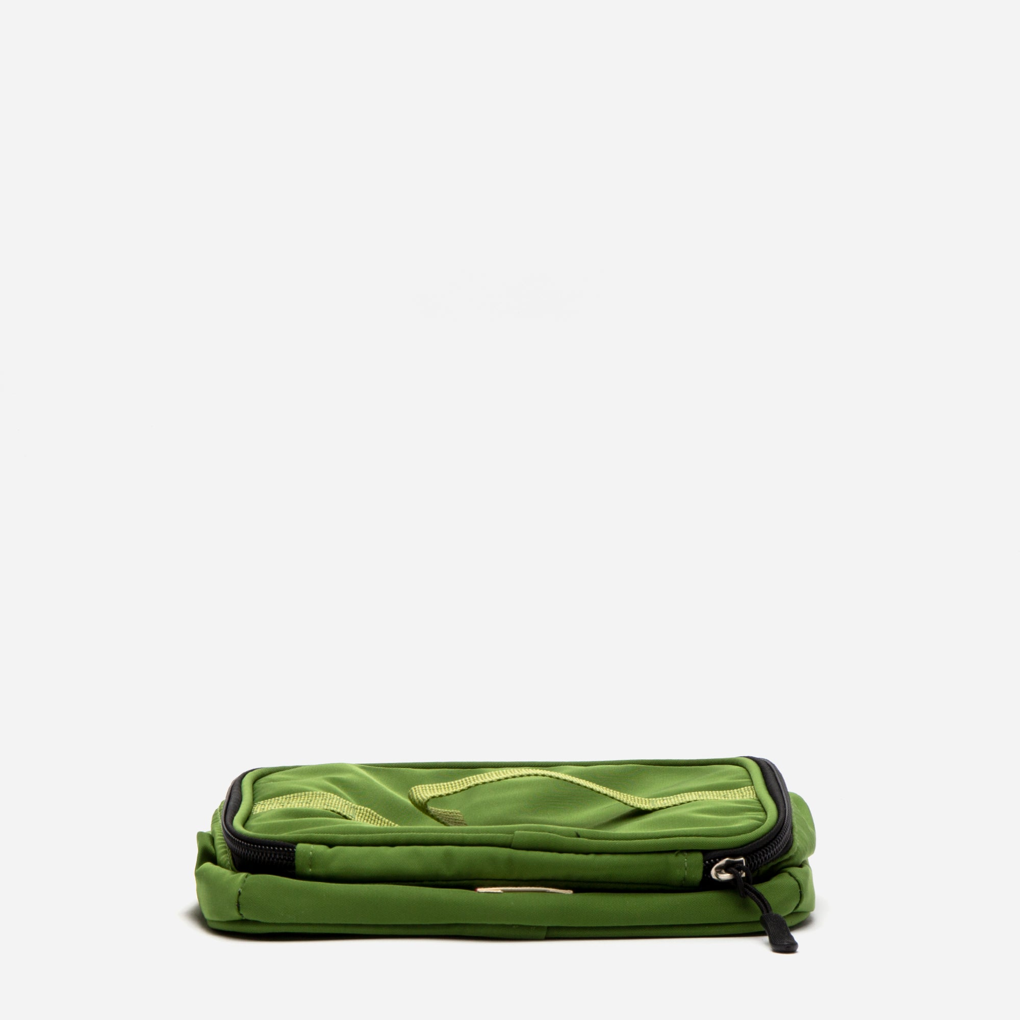 Foldaway Nylon Travel Cosmetic Green