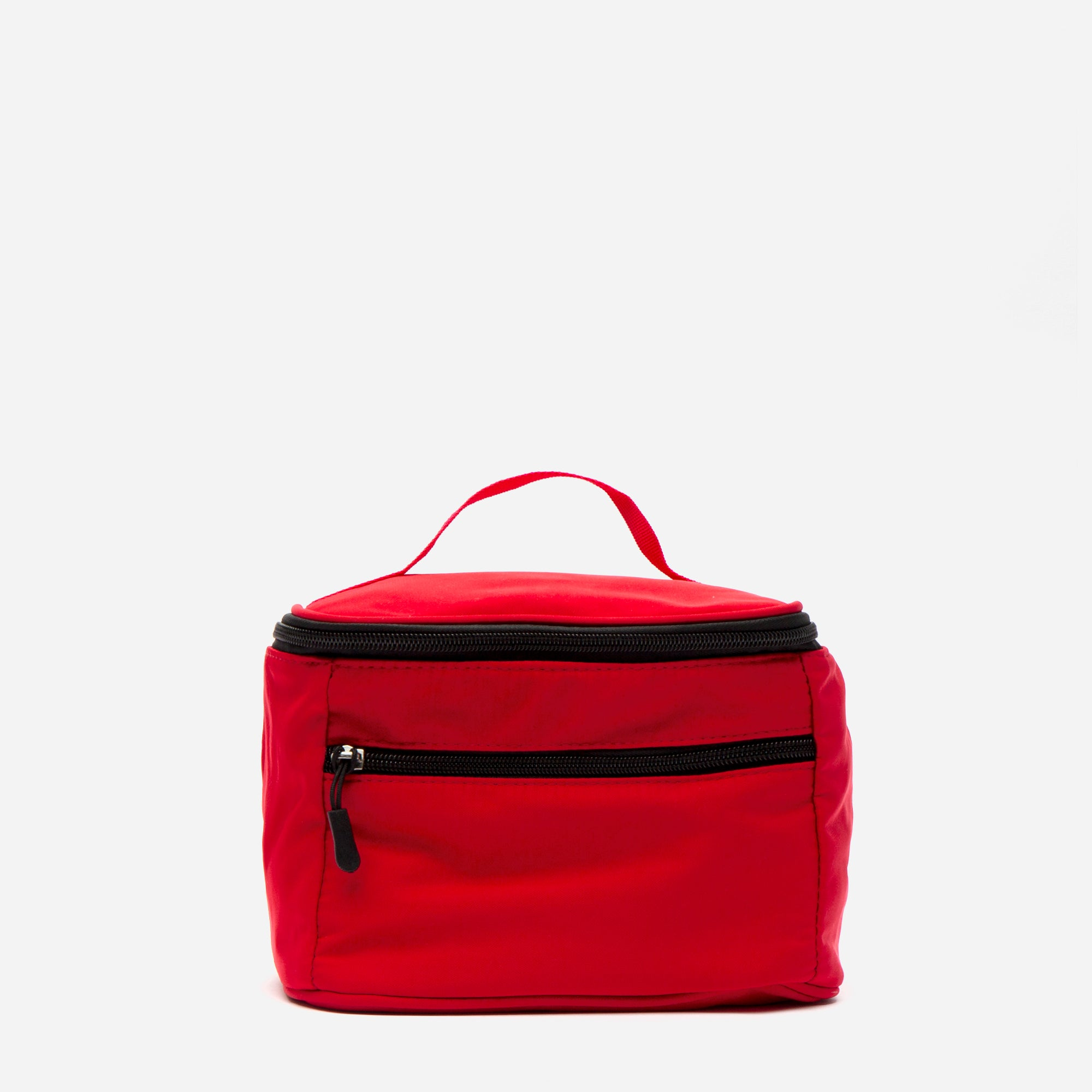 Foldaway Nylon Travel Cosmetic Red - Frances Valentine