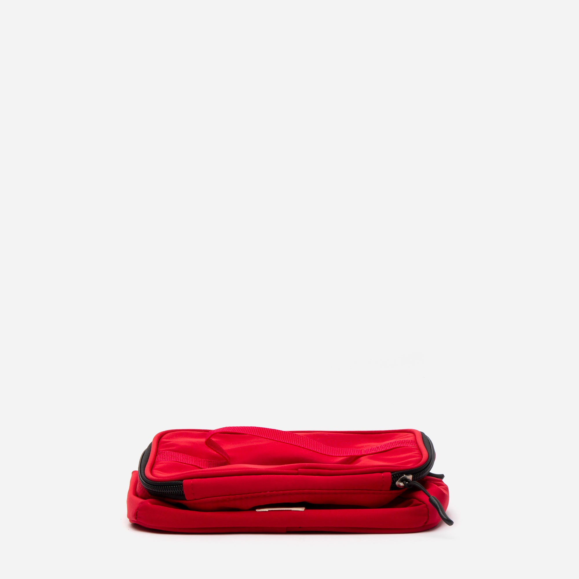 Foldaway Nylon Travel Cosmetic Red