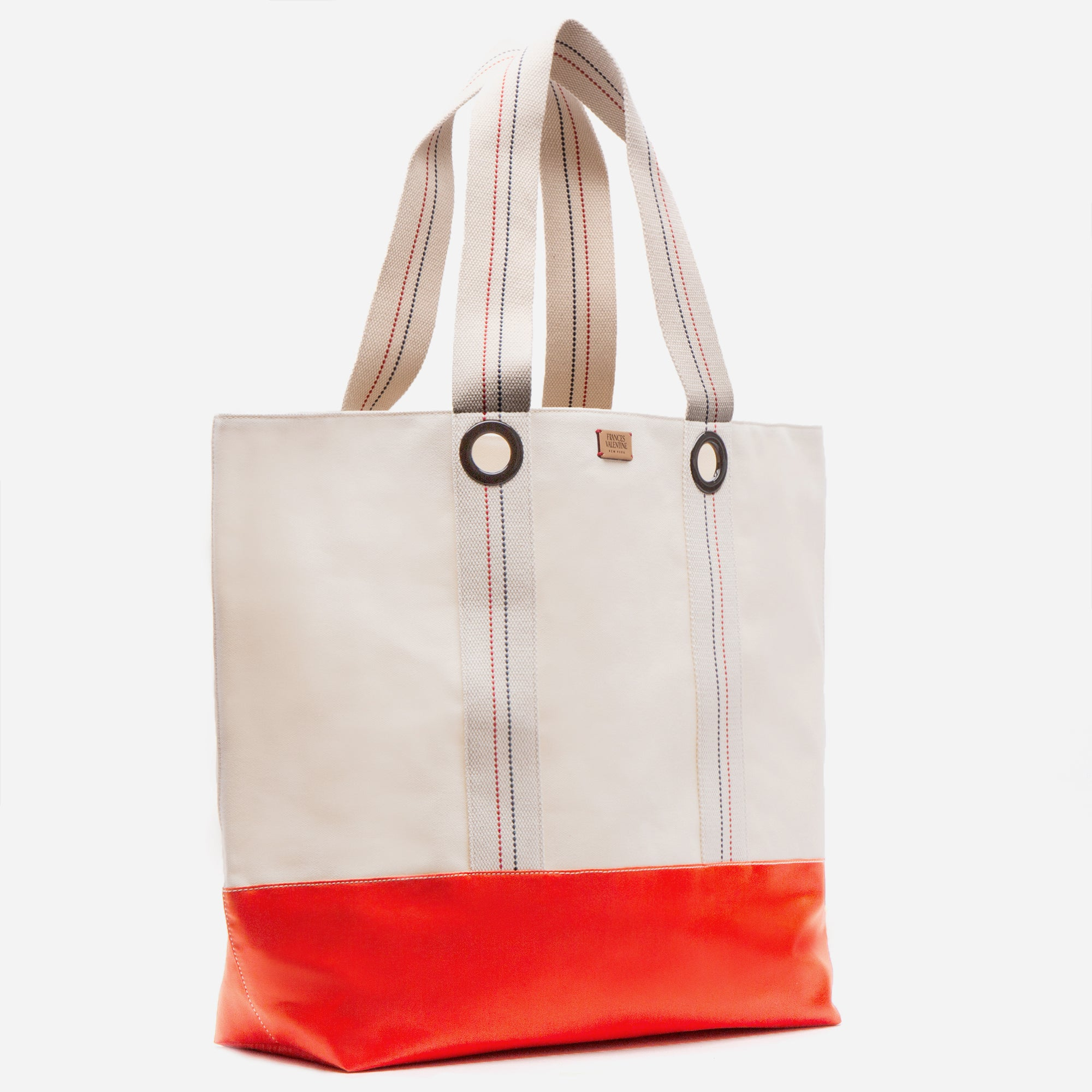 Frank Men's XL Canvas Tote Natural Orange