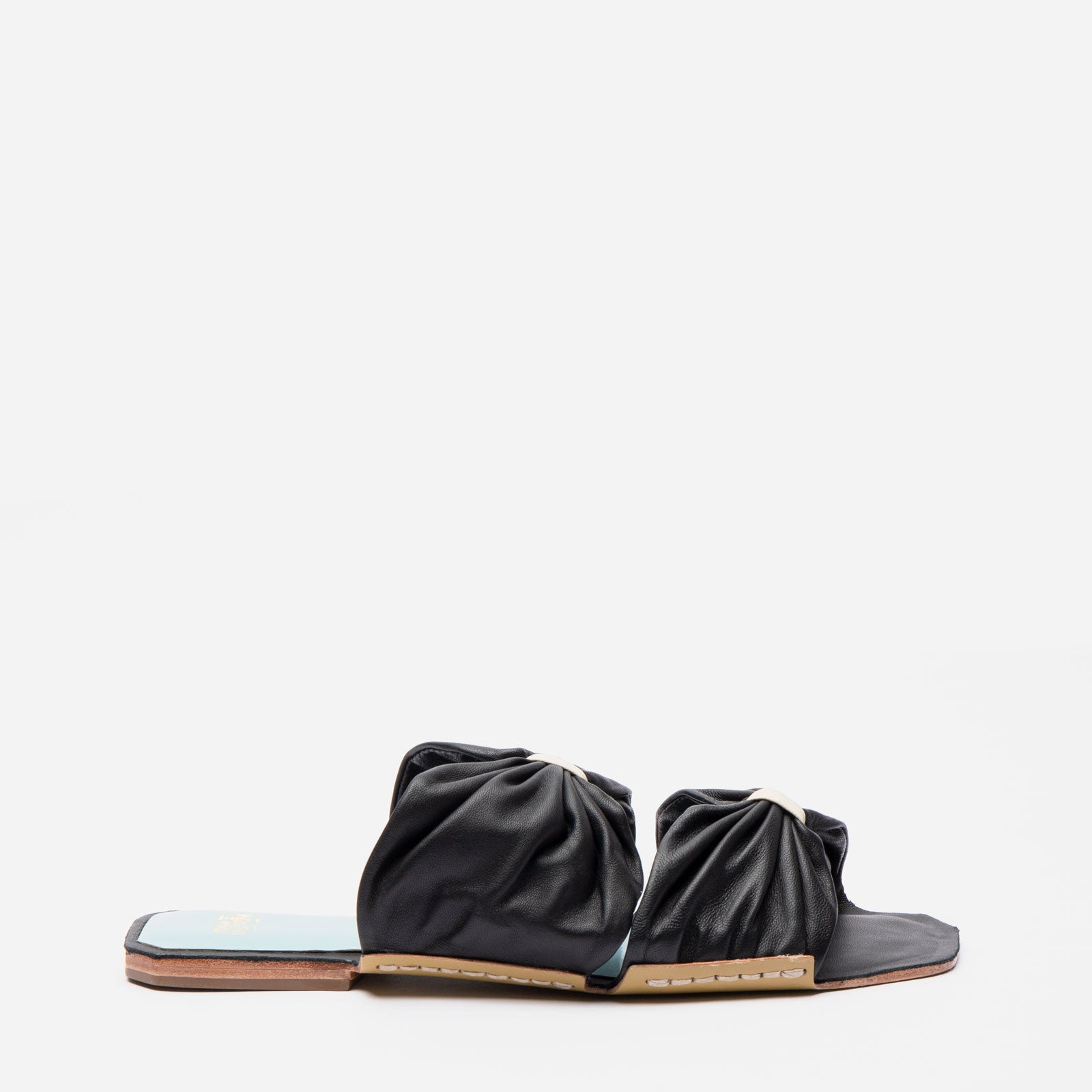 Frenchie Sandal Soft Nappa Black