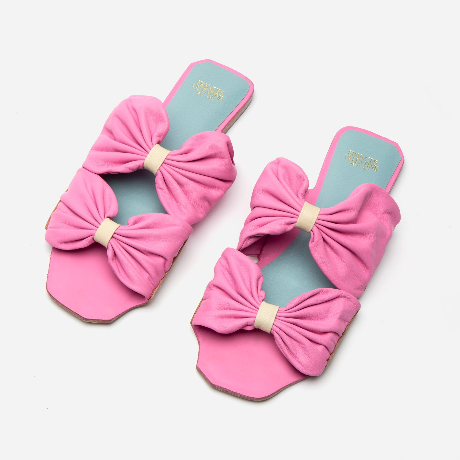 Frenchie Sandal Soft Nappa Pink - Frances Valentine